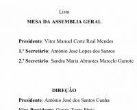 Eleições 2019 - Lista